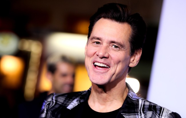 Jim Carrey In Trouble For Comment To Female Reporter About Bucket List