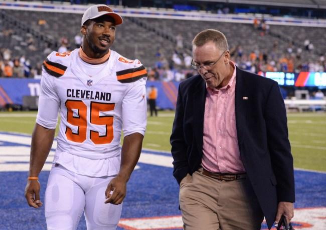 Former Browns GM John Dorsey supports Myles Garrett's claim that Mason Rudolph used racial slur during on-field altercation last season