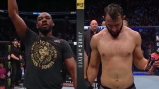 The Internet Reacts To Controversial Jon Jones-Dominick Reyes Decision At UFC 247