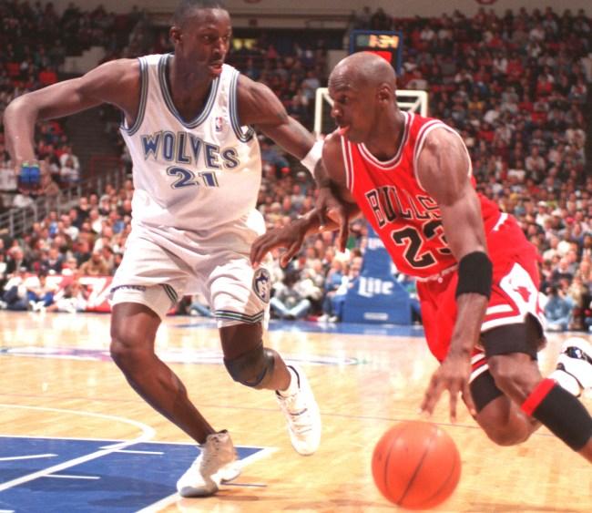 Kevin Garnett Tried To Trash Talk Michael Jordan Once Didnt Go Well