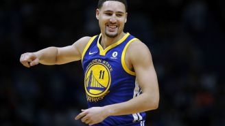 Klay Thompson Claims He Exclusively Uses A Flip Phone In The Most On-Brand Confession Ever