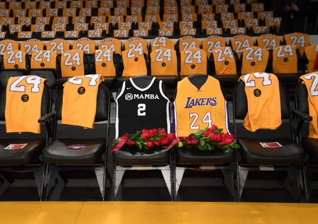 Items from the Kobe Bryant memorial service are already being sold on Ebay by some fans for hundreds and even thousands of dollars