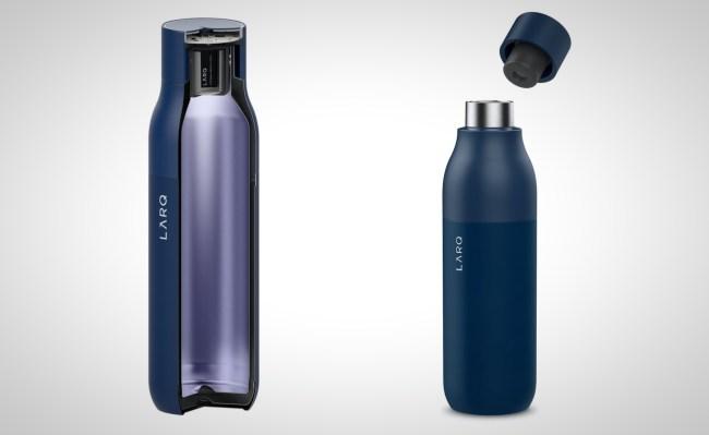 LARQ water bottle self cleaning