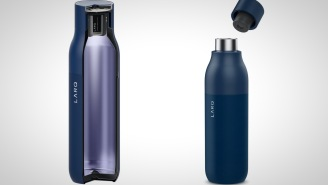 Larq Is The 'Cleanest Water Bottle' Around Thanks To A Futuristic Purification System That Cleans Out 99.999% Of Bacteria