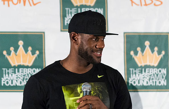 lebron james charity kent state scholarships