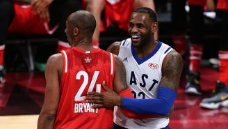 LeBron James Says His Daughter Inspired Him To Have His Team Wear Gianna Bryant's Number At The All-Star Game