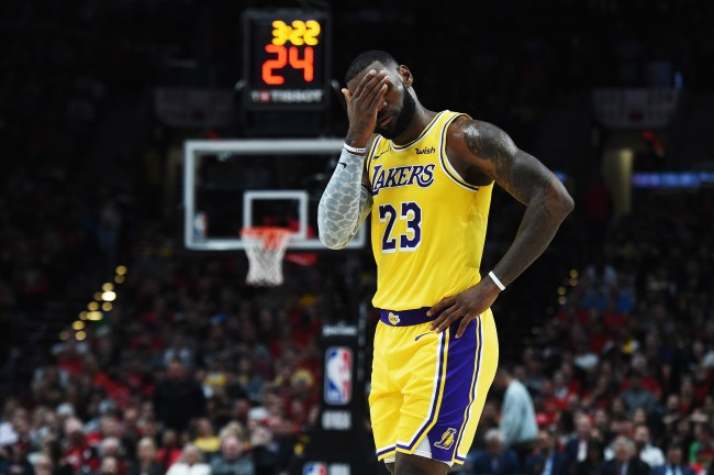 FS1's Ric Bucher thinks LeBron James is unhappy with Lakers front office while claiming NBA star is done chasing championships