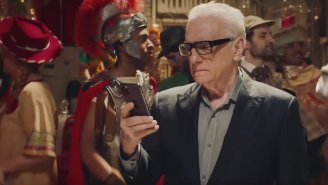 Martin Scorsese Gets Ghosted By Jonah Hill At Party In Coca-Cola Super Bowl Commercial