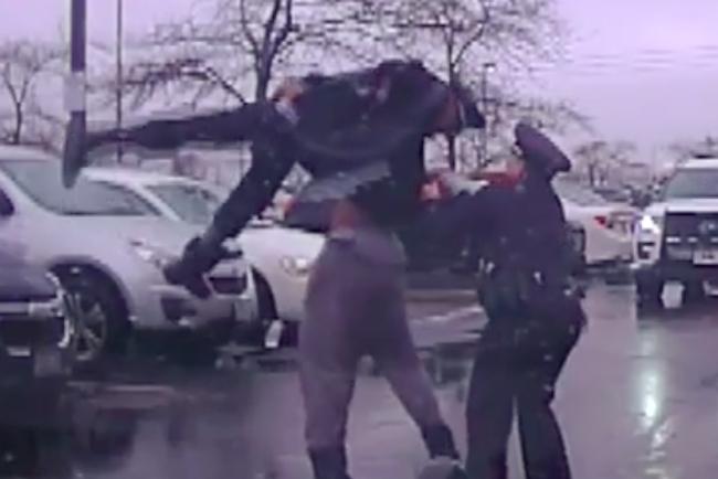 eastern kentucky football player bodyslams cop