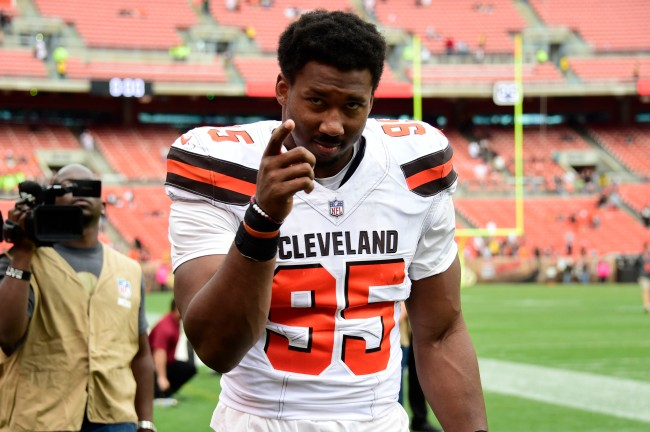 After Myles Garrett was reinstated by the NFL, it was reported that he lost $1.2 million worth of salary during his suspension
