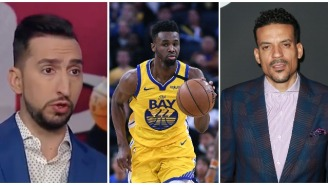 Nick Wright Calling Andrew Wiggins A 'Bad Basketball Player' Results In A Threat From Matt Barnes After Aggressive Exchange