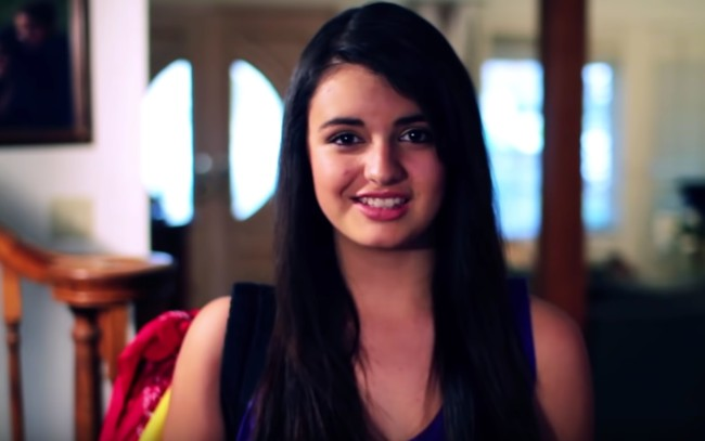 Rebecca Black message about bullying