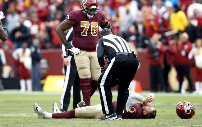 Redskins QB Alex Smith Says Hes Very Much Lucky To Be Alive