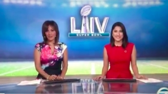 Ill-Prepared Newscasters Tasked With Delivering Basic Super Bowl News Fail Majestically