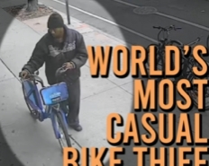 Here's Video Of The World's Most Relaxed Bike Thief Stealing My $1200 Citibike From Under My Nose
