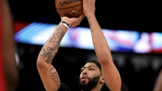 Anthony Davis Was Clearly Joking When Saying He Intentionally Missed His First Game-Winning Free Throw Attempt In The All-Star Game