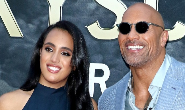 Simone Johnson Daughter Of The Rock Signs Contract With WWE