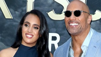Simone Johnson, The 18-Year-Old Daughter Of The Rock, Has Officially Signed A Contract To Wrestle For WWE