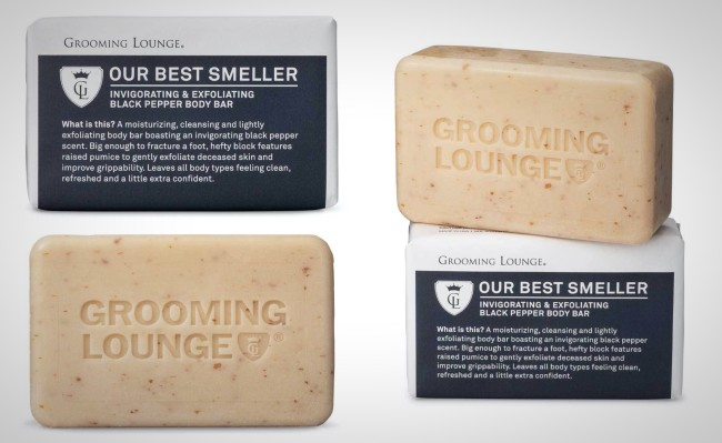 grooming lounge our best smeller soap