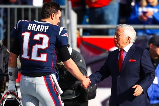 As Tom Brady's free agency approaches, Patriots owner Robert Kraft reportedly prefers QB test the free agent market before talking to current team