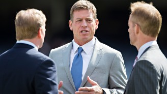 Troy Aikman's Getting Nailed By Chiefs Fans On Twitter After Old Tweet About Patrick Mahomes Resurfaces