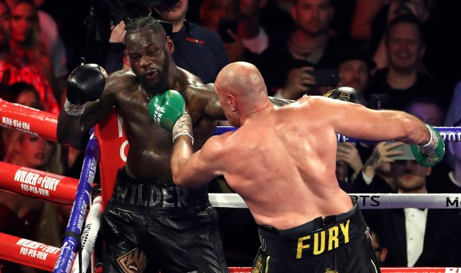 Tyson Fury Conspiracy Theory About His Boxing Gloves Vs Deontay Wilder