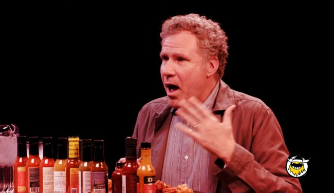 Will Ferrell Takes The Hot Ones Challenge Spills Never-Before-Heard Info