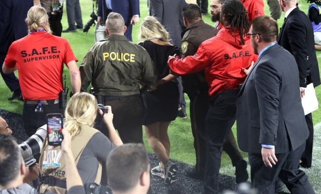 Woman Tackled By Security Trying To Run On Field At Super Bowl LIV Identified
