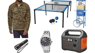 Daily Deals: Spyder Pong, Tactical Flashlights, Popcorn Machines, $30 Reeboks, Patagonia Pullovers, Nike Flash Sale And More!