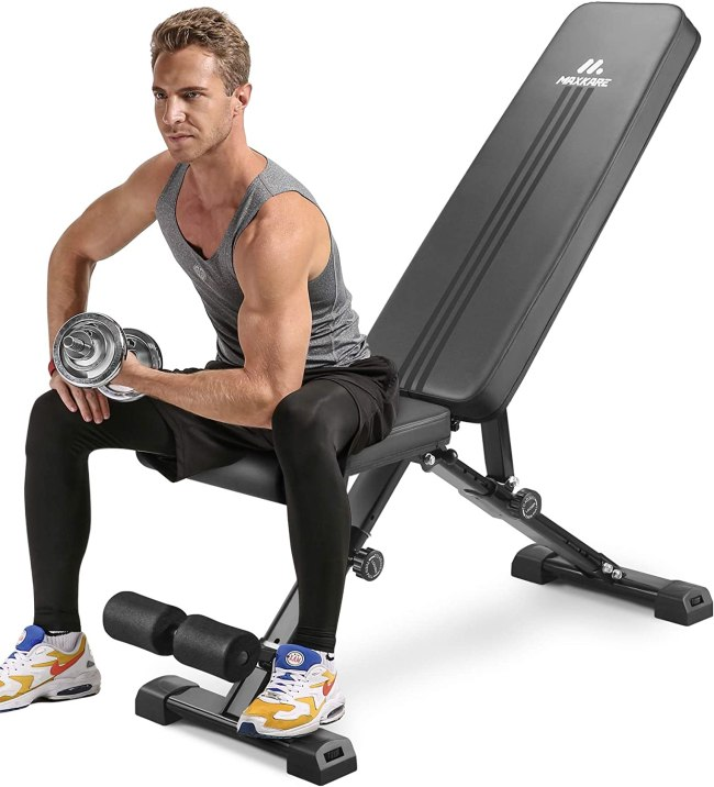 MaxKare Weight Bench Adjustable Workout Bench
