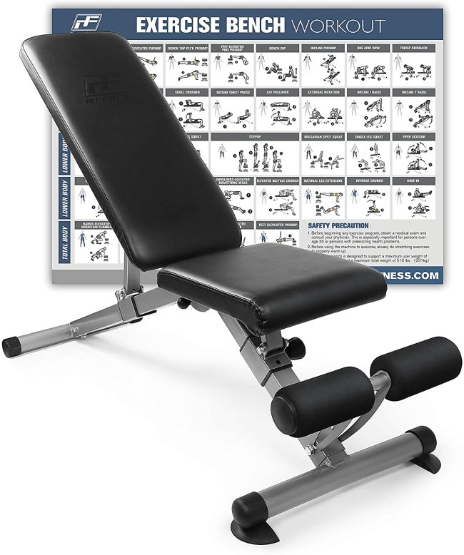 RitFit Adjustable : Foldable Utility Weight