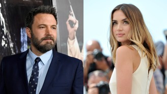 Not Only Is Ben Affleck Sober As Hell And Acting His Ass Off But He's Also Dating Ana de Armas