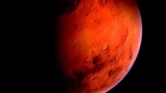Alien Monolith Base Spotted On Mars Moon By Buzz Aldrin ESA Image