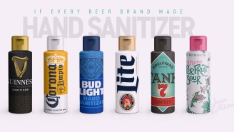 Someone Imagined What It Would Look Like If Every Beer Company Made Hand Sanitizer And These Need To Become Real ASAP