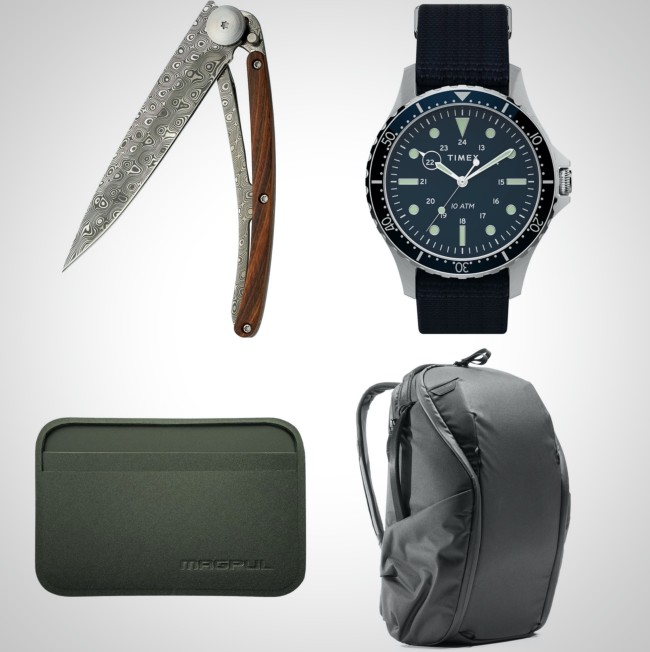 best weather resistant everyday carry items for men