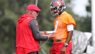 Bruce Arians Shares Awesome Way He's Trying To Help Jameis Winston Find Another QB Job Right Now
