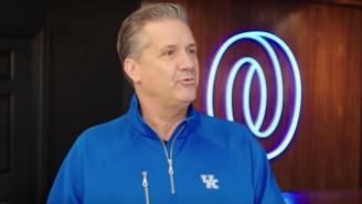 Kentucky Basketball Coach John Calipari Goes 'Sneaker Shopping' And Shows Off A Pair Of $40,000 Rare Nike's