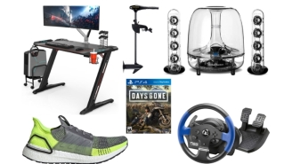 Daily Deals: Patagonia, Harman Kardon Sound Systems, Gaming Desks, UltraBoost Sneakers, Tommy Bahama Sale And More!