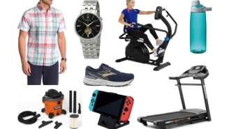 Daily Deals: $25 Reeboks, Wet/Dry Vacs, Billiard Tables, Treadmills. Watches, Steppers, Original Penguin Sale And More!