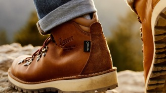 Only 250 Pairs Of The Exclusive Danner Mountain Pass 'Gold Rush' Boots Were Made And They're Built To Last A Lifetime
