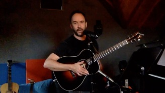 Last Night's Dave Matthews Live Stream Is The Most Hopeful I've Felt In Awhile