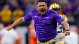 Ed Orgeron Once Showed Up At A Recruit's House At 4 A.M. To Successfully Convince Him To Commit To LSU