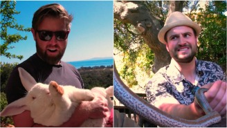 We Linked Up With Animal Planet's Forrest Galante And Toured His Insane, Animal-Filled Home