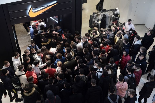 Nike and other retailers such as Apple have closed their stores in response to the coronavirus pandemic.