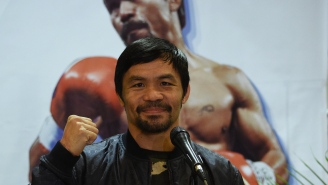 Manny Pacquiao Is 'Not Afraid To Die' Helping Filipino People During Pandemic Crisis In Country