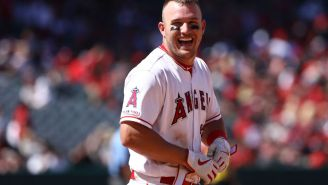 Mike Trout Hits Impressive Golf Trick Shot, May Be Well On His Way To Taking Over That Sport As Well