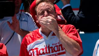 Joey Chestnut Set A New World Record By Eating 32 Big Macs In One Sitting Which Totaled Over 15 Pounds Of Meat