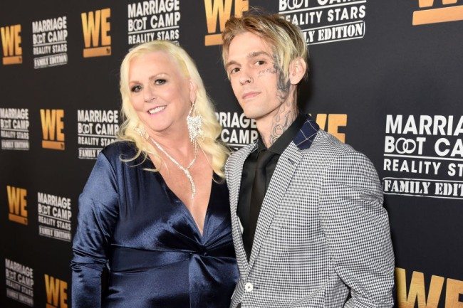 Aaron Carter breaks up with his girlfriend Melanie Martin after she was arrested for domestic violence, single says he is single on Instagram.