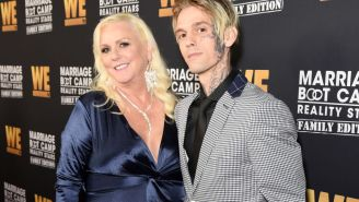 Aaron Carter Breaks Up With Girlfriend After She Was Arrested For Domestic Violence (Same GF He Has A Face Tattoo Of)