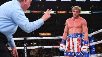 Logan Paul Gets Knocked Out Cold After Getting In The Ring With Undefeated UFC Fighter